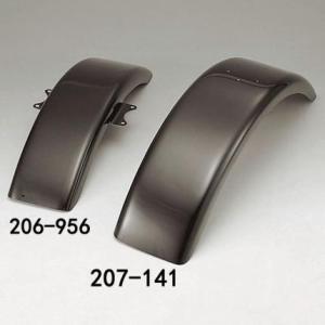 【セール特価】TW225・TW200 フラットフロントフェンダー FRP黒ゲル KIJIMA(キジマ)|zerocustom