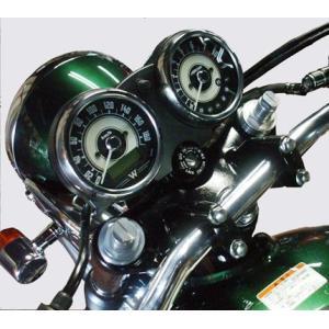 ライジングメーターステー ブラック POSH(ポッシュ) W400 zerocustom