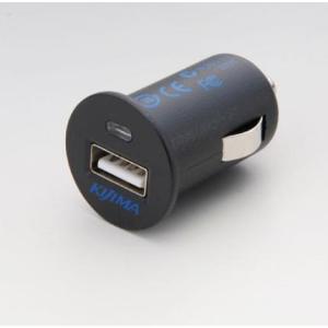 【セール特価】USB変換アダプター シガーソケット→USBポートへ変換 出力:DC5V/2.1A KIJIMA(キジマ)|zerocustom