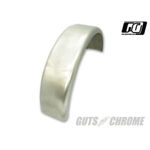 8300-0002 フラットフェンダー 6インチ GUTS CHROME(ガッツクローム)|zerocustom