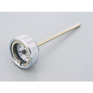 SR400・SR500(78〜08年・10年) ディップスティック付油温計 クロームメッキ(O-リン...