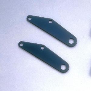 リヤウインカーステーベース スチール製ブラック POSH(ポッシュ) FTR zerocustom