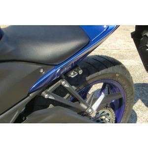 【セール特価】YZF-R25(15年〜) ヘルメットロック ブラック KIJIMA(キジマ)|zerocustom