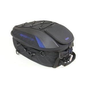 SPIDER(スパイダー) シートバッグ ブラック/ブルー 15〜23リットル BAGSTER(バグスター)