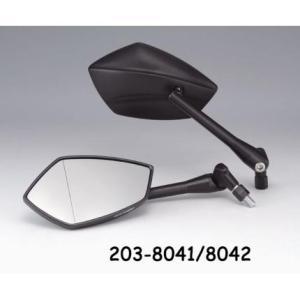 【セール特価】TECH(テック)03ミラー デュアルタイプ 右側用 正/逆ネジ10mm(新認定車両対応) KIJIMA(キジマ)