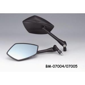 【セール特価】TECH(テック)03ミラー ブルーグラス 右側用 正/逆ネジ10mm・正ネジ10mmP1.5(新認定車両対応) KIJIMA(キジマ)