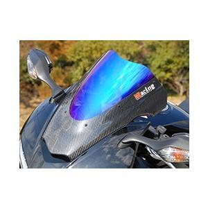 VFR800(14年) カーボントリムスクリーン 綾織りカーボン製/クリア MAGICAL RACING(マジカルレーシング)