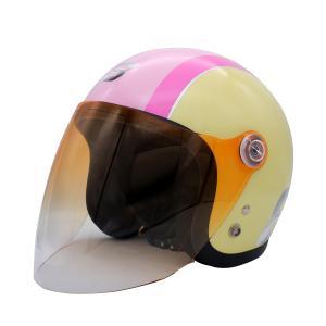 【セール特価】POPO8(ポポ・エイト)アイボリー/ピンク キッズ/レディース用ヘルメット(54cm〜57cm未満) DAMM TRAX(ダムトラックス)|zerocustom