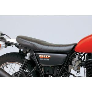 【セール特価】250TR(02〜11年) COZYシートショートロー ロール ブラック DAYTONA(デイトナ)|zerocustom