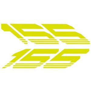 マジェスティS(MAJESTY)SG28J アンダーカウル用リフレクトステッカー 蛍光黄緑 WORLD WALK(ワールドウォーク)