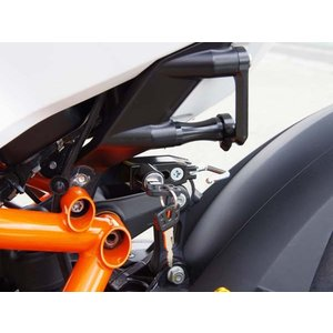 KTM 1190 RC8/R ヘルメットロック ブラック BABYFACE(ベビーフェイス) zerocustom