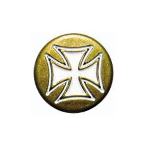 【セール特価】クロスドットボタン ゴールド DAMM TRAX(ダムトラックス)|zerocustom