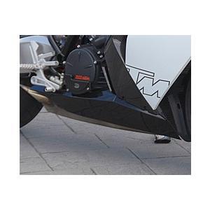KTM 1190 RC8 アンダーカウル・ストリート FRP製・黒 MAGICAL RACING(マジカルレーシング) zerocustom