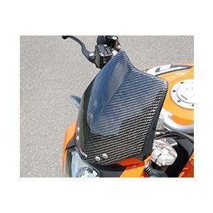 KTM 125DUKE バイザーカウル 綾織りカーボン製 MAGICAL RACING(マジカルレーシング)|zerocustom