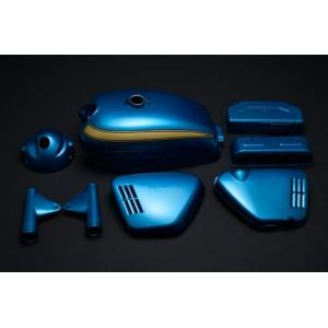 CB750Four(K0) K0 キャンディブルー外装5点セット  エムテック中京(M-TEC中京) zerocustom