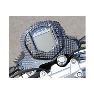 KTM 125DUKE メーターカバー Gシルバー製 MAGICAL RACING(マジカルレーシング)|zerocustom