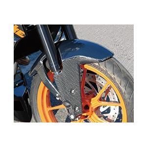 KTM 125DUKE フロントフェンダー 綾織りカーボン製 MAGICAL RACING(マジカルレーシング)|zerocustom