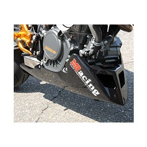 KTM 125DUKE アンダーカウル FRP製・黒 MAGICAL RACING(マジカルレーシング)|zerocustom