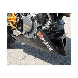 KTM 125DUKE アンダーカウル 平織りカーボン製 MAGICAL RACING(マジカルレーシング)|zerocustom
