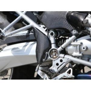 ステップガード ドライカーボン ササキスポーツクラブ(SSC) BMW R1200GS|zerocustom