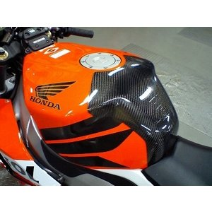 CBR1000RR(04〜07年) タンクプロテクター カーボン平織 CLEVER WOLF RACING(クレバーウルフレーシング)|zerocustom