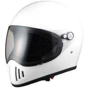 雷神RAIJINヘルメット パールホワイト Lサイズ Silex(シレックス)