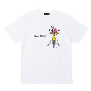 SUPER CUB イラスト T-シャツ Bタイプ Lサイズ HONDA(ホンダ)