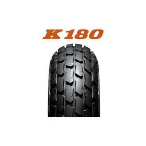 ダンロップタイヤ(DUNLOP)DIRT TRACK K180(フロント/リア)130/80-18 MC 66P WT|zerocustom