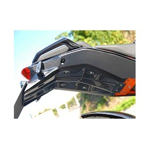 KTM 125DUKE シートインナー 綾織りカーボン製 MAGICAL RACING(マジカルレーシング)|zerocustom