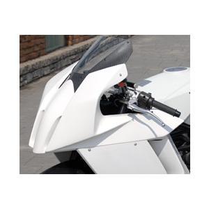 KTM 1190 RC8 アッパーカウル(Dリングカウルファスナー付)FRP製・黒 MAGICAL RACING(マジカルレーシング) zerocustom