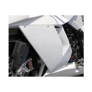 KTM 1190 RC8 サイドカウル(左右セット・Dリングカウルファスナー付)FRP製・黒 MAGICAL RACING(マジカルレーシング) zerocustom