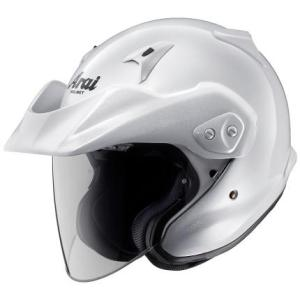 CT-Z グラスホワイト57〜58cm ジェットヘルメット Arai(アライ)
