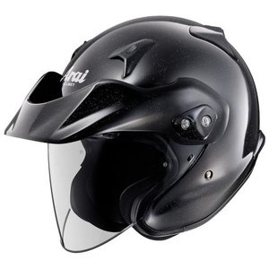 CT-Z グラスブラック 57〜58cm ジェットヘルメット Arai(アライ)