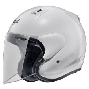 SZ-G グラスホワイト 57〜58cm ジェットヘルメット Arai(アライ)