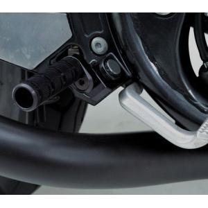 【セール特価】ZRX1200 DAEG(ダエグ)09〜13年 マルチステップ ブラックアルマイト DAYTONA(デイトナ)|zerocustom