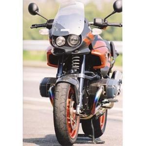 フロントハーフカウル ササキスポーツクラブ(SSC) BMW R1150R-Rockster zerocustom