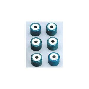 ビーノ(VINO)(2ST/4ST) ヤマハウエイトローラーセット Φ15×t12/6個入 7g NRマジック|zerocustom