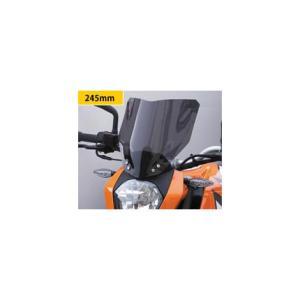 KTM 125DUKE(12年〜) ネイキッド・スクリーン (ダーク・スモークカラー) Powerbronze(パワーブロンズ)|zerocustom
