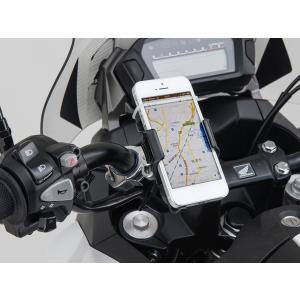 【あすつく対象】バイク用スマートフォンホルダー iphone5用クイックタイプ(工具なし簡単脱着タイプ) DAYTONA(デイトナ)|zerocustom