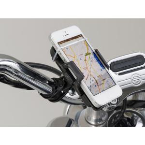 【あすつく対象】バイク用スマートフォンホルダー リジットタイプ(クランプ部をネジ止めタイプ) DAYTONA(デイトナ)|zerocustom
