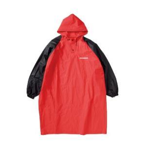 【サイズ】F 【商品説明】不意な雨天時に大活躍のレインポンチョ。平ゴム入りの袖で雨、風の浸入をブロッ...