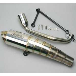 シグナスX(SE44J) BB-SHOOTマフラー(ステンレスフルエキ) ADIO(アディオ)|zerocustom