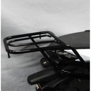 【セール特価】Ninja250(ニンジャ)EX-250L リアキャリア スチール製 ブラック仕上げ KIJIMA(キジマ)|zerocustom
