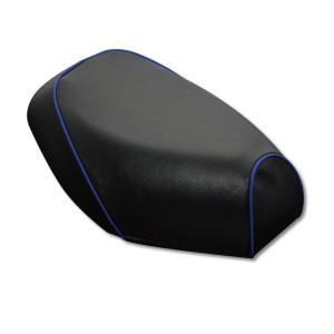 PCX125(JF56) 張替タイプ 国産シートカバー 黒/青パイピング GRONDEMENT(グロンドマン) zerocustom