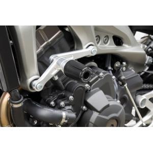 MT-09 エンジンスライダー シルバー OVER(オーバーレーシング)|zerocustom