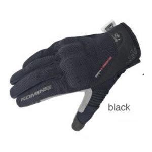 GK-183(06-183)プロテクトメッシュグローブ ブレイブ ブラック Sサイズ コミネ(KOMINE)|zerocustom
