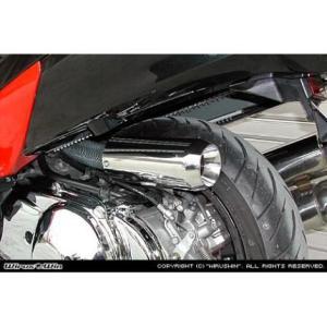 サイレンサー型エアクリーナーキットジェットタイプ ウイルズウィン(WirusWin) スカイウェイブ(SKYWAVE)CJ43 zerocustom
