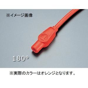 プラグコード 空冷用 180度 オレンジ Taylor(テイラー)