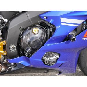 YZF-R6(17年) エンジンプロテクター 右側 (カーボンケブラー) 才谷屋(サイタニヤファクトリー)|zerocustom