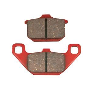 【セール特価】バルカン400(VULCAN) 赤パッド(ブレーキパッド)フロント用 DAYTONA(デイトナ)|zerocustom